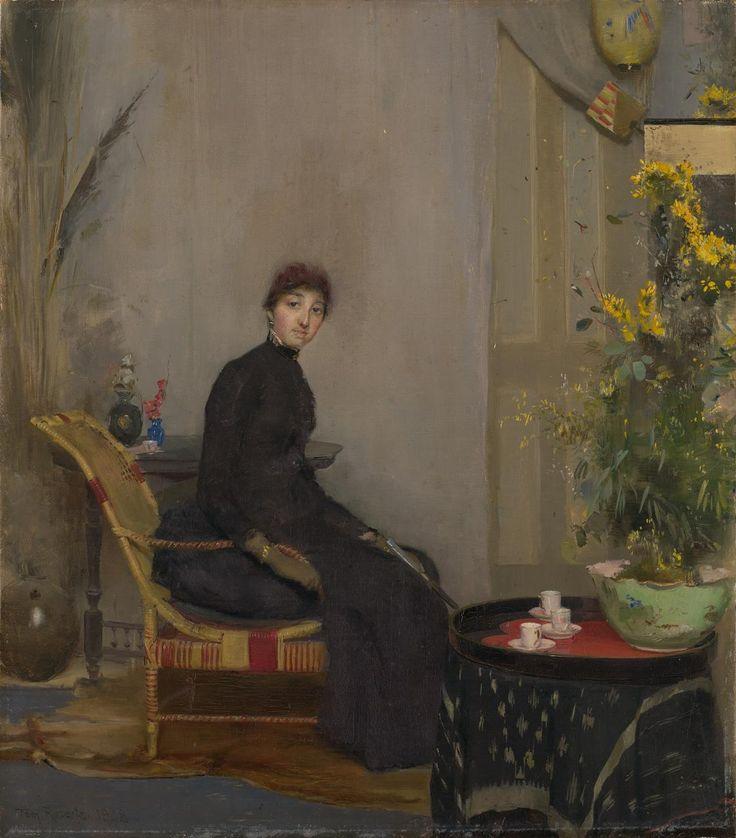 Mrs L. A. Abrahams, - Tom Roberts