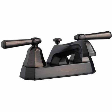 Design House 525584 Barcelona 4 inch Lavatory Faucet, Brushed Bronze Finish, Gold