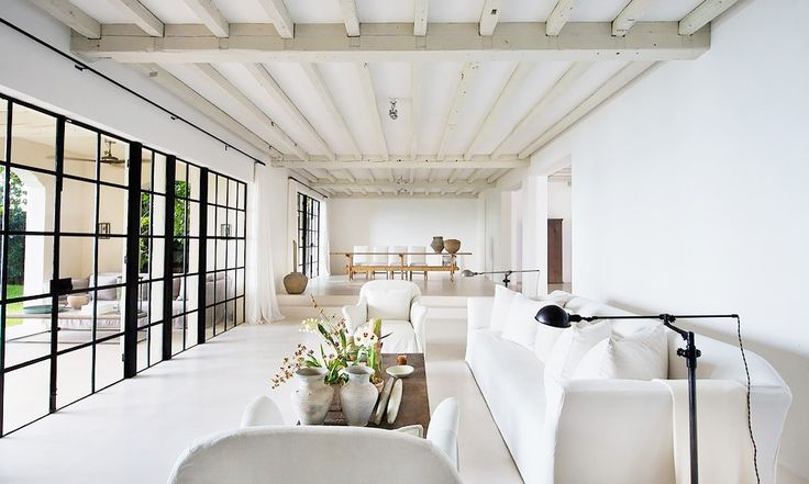 11 Chic Living Rooms From Our Favorite Celebrities via @MyDomaine