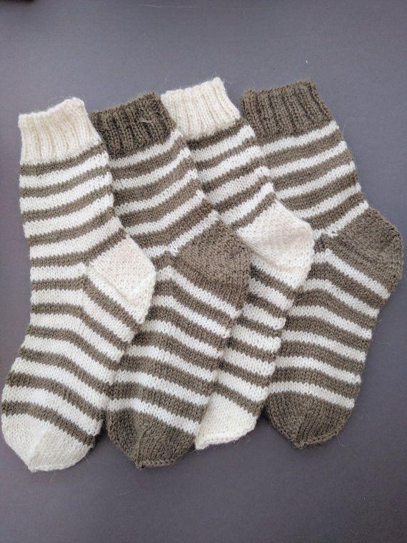 Alpaca Kids Knit Socks Toddler Wool Socks Winter Knitted Children Socks Girls Socks Boys Socks Unisex Clothing