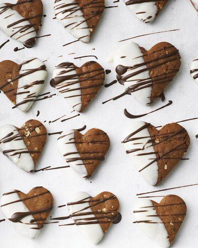 Schokoladenkekse: Honigkuchen-Herzen repinned by www.landfrauenverband-wh.de #landfrauen #landfrauen wü-ho