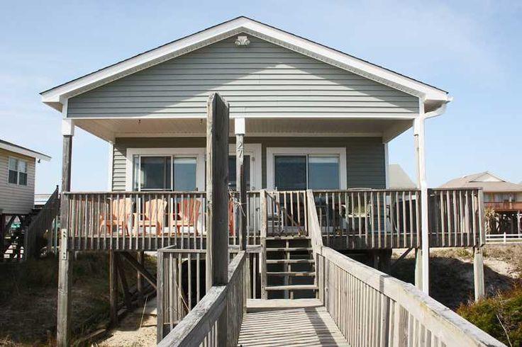 Oak Island Vacation Rentals | Oak Island Vacation Rentals | Sandlewood |  (3 Bedroom Oceanfront House)