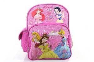 Disney Princess Backpack Flower Girl's Pink BookBag. #Disney #Princess #Backpack #Flower #Girl's #Pink #BookBag