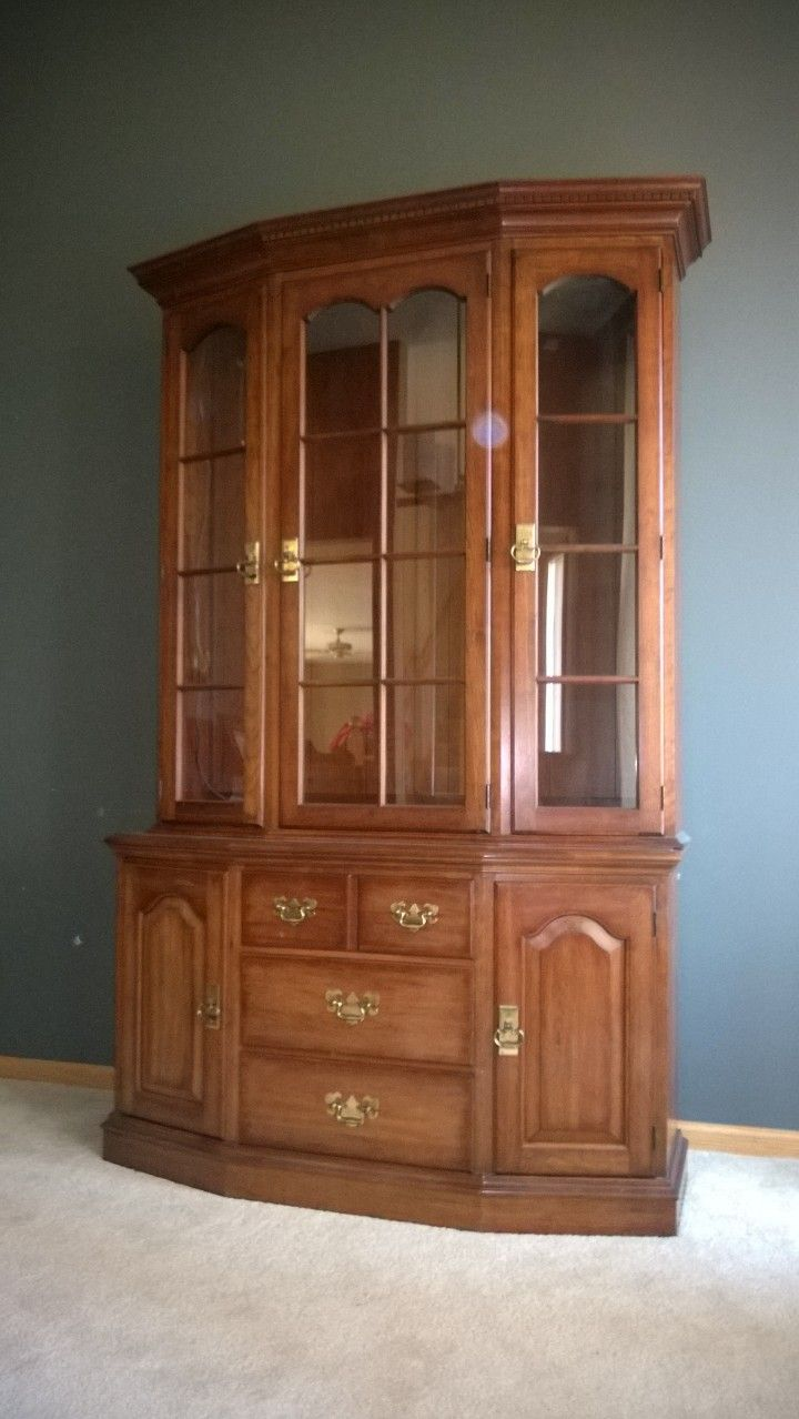 Cherry China Cabinet In Scooteru0027s Garage Sale In Rosemount , MN For $275.  This Item