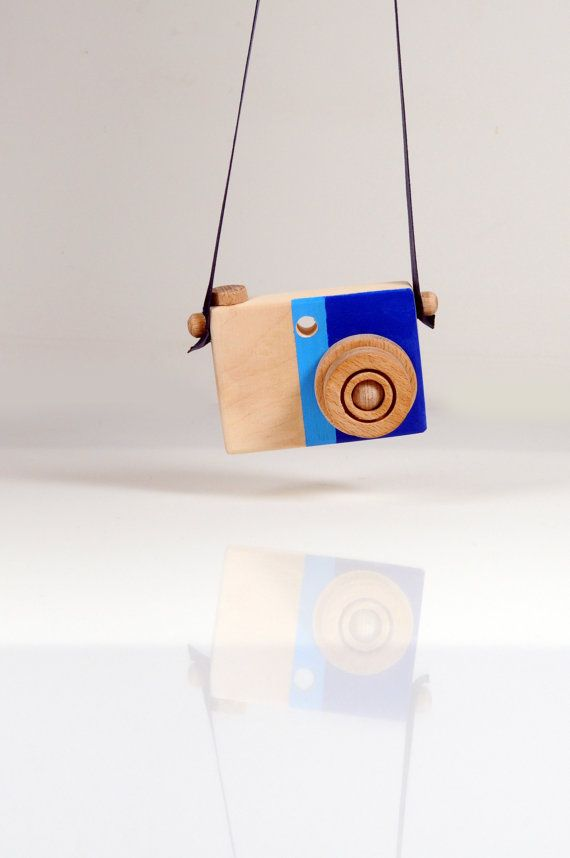 Personalized Wooden Toy Camera  Handmade Play Camera  by beigebois, €19.00