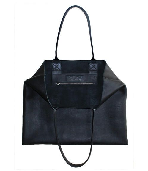 Tote IT!  The perfect leather bag for every woman.
