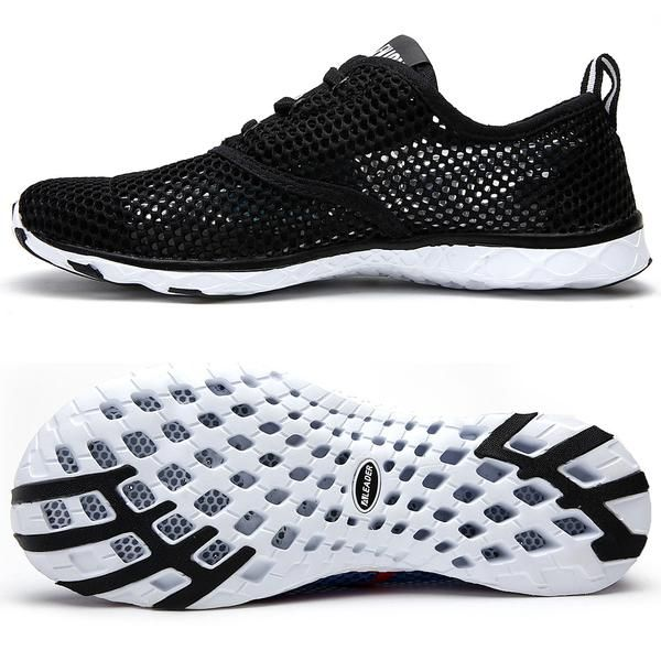 Department Name: AdultItem Type: casual shoesPattern Type: SolidOutsole Material: RubberFit: Fits true to size, take your normal sizeUpper Material: NylonClosure Type: Slip-OnLining Material: Cotton FabricFeature: Massage,BreathableInsole Material: EVASeason: Spring/AutumnColor: Black,Red,Blue,Gray ,Purple,Style: Fishing Shoes,Walking Shoes,Water,RunningGender: Unisex Feature: Breathable,Quick Dry,LightElements: Cut-outsHeel Type: Flat  Shipping: Free Estimated delivery: 12-28days     U...