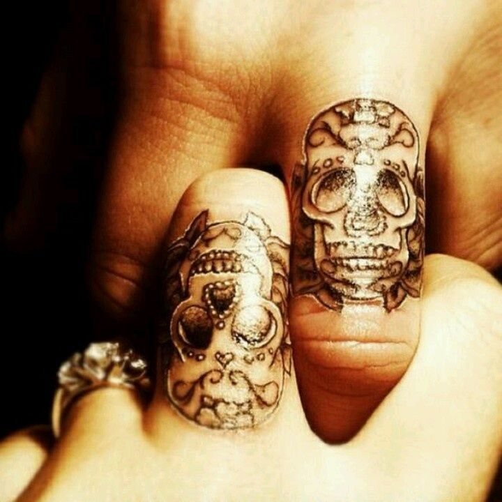Um, I just like the idea of each of us getting a tiny skull.
