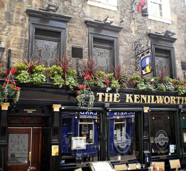 drank my way through the pub crawl on Rose Street, Edinburgh, Scotland