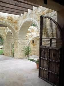 austin stone porch