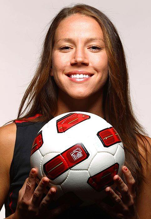 Lauren Cheney Forward (Age: 23, Caps: 42) (viaU.S. Women's World Cup Team - Photos - SI.com)
