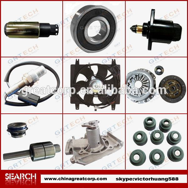 Over 1500 items automobile cars spare parts for pride