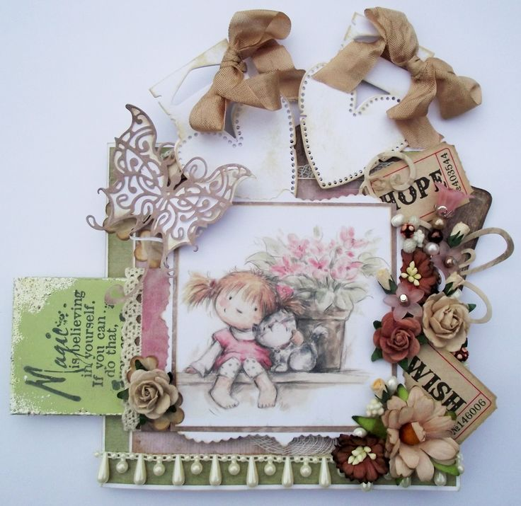 any occasion card with hidden magnet