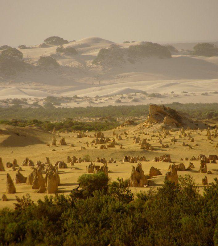 Variations of landscape, Western Australia
