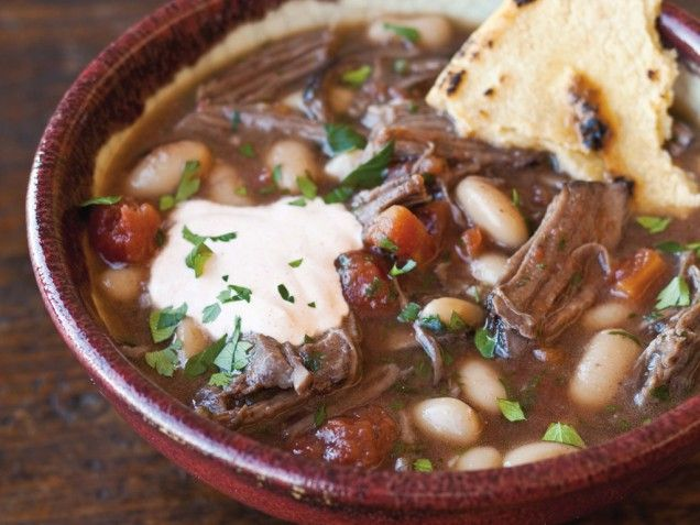 Short Rib Stew with Paprika Sour Cream - leftover short ribs? now that ...