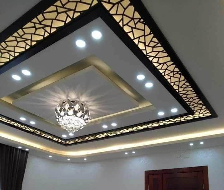 Amazing Mdf Ceiling Design Ideas To See More Read It In 2021 Ceiling Design House Ceiling Design Pvc Ceiling Design