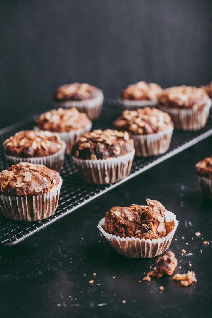 Recept van de week: Muffins met havervlokken en veenbessen