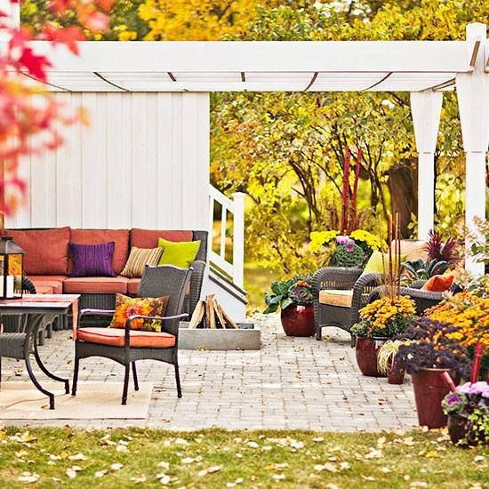 In one word, how would you describe this outdoor space ...