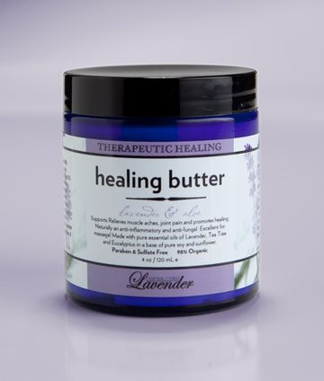 Healing Butter Aromatherpy Pain Relief