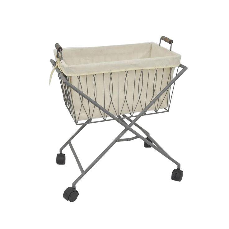Ordinary Laundry Hamper With Wheels Part - 13: Laundry Basket On Wheels | Dotandbo.com