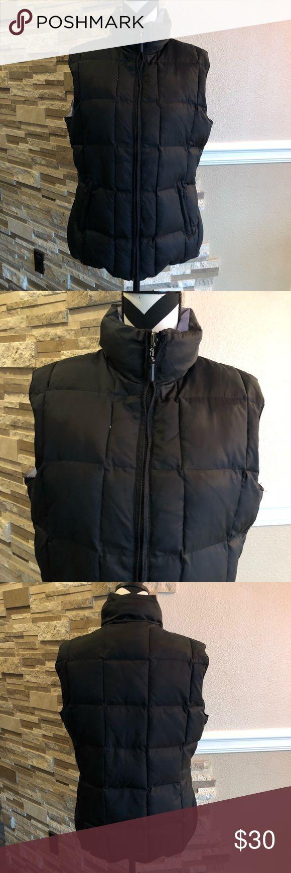 Black/Lavender Reversible Vest Good condition, warm Puffer. Jackets & Coats Vests