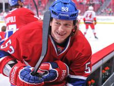 Love that smile.. Ryan White, from the photo galleries on montrealcanadiens.com