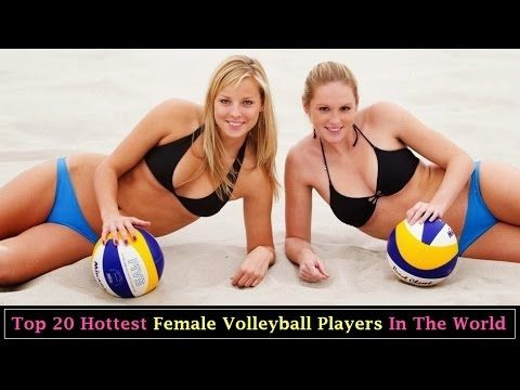 Top 20 Hottest Female Volleyball Players In The World..!