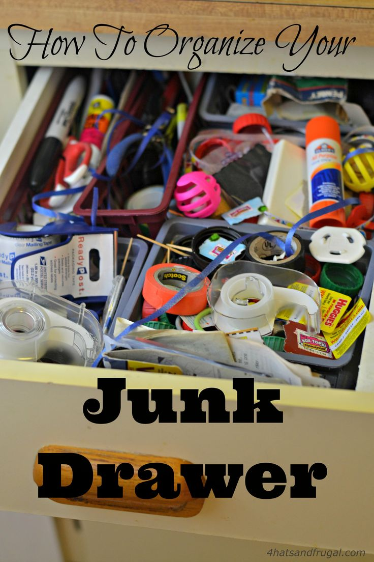 Yes, a junk drawer can be organized! Check out these 5 steps that show you exactly how to organize a junk drawer, and keep it that way.