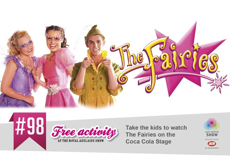 Take the kids to see The Fairies! #AdelShow