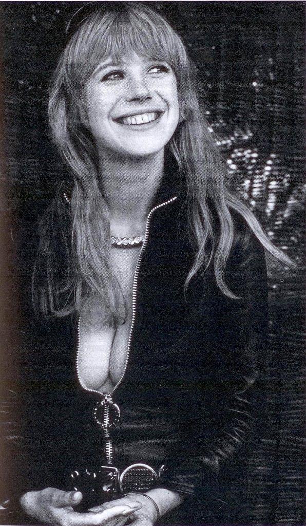 MARIANNE FAITHFULL (dans The Girl On A Motorcycle,1968)