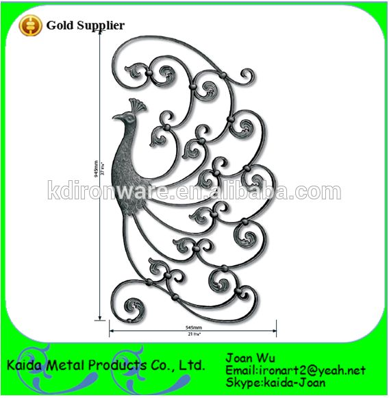 New Design Ornamental Wrought Iron Fence Panels,Iron Gate Panels ...