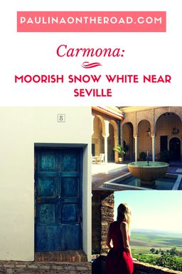 Discover Carmona, a perfect day trip from Seville/Spain. It is a lovely mix between Moorish architecture, white houses and fountains.