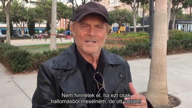 Terence Hill üzenete a magyaroknak a Bud Spencer Terence Hill filmünnepen