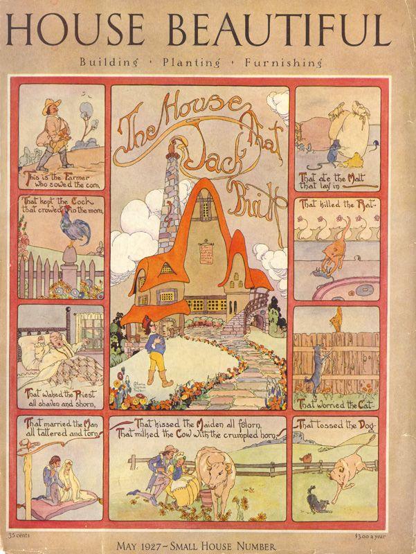 House Beautiful, May 1927 Illustrator - Catharine Chapman Fowler