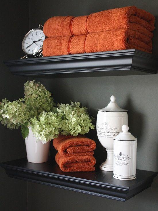 25+ best Traditional bath towels ideas on Pinterest Grey - bathroom towel decorating ideas