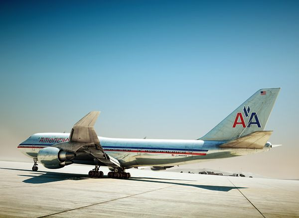 American 747 / graphics and illustration