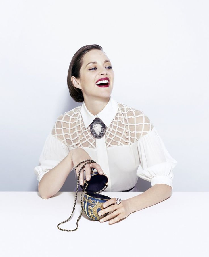 Marion Cotillard Stars in Time Style & Designs Fall 2012 Cover Story