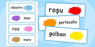 Colours in romanian