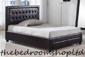 Veneto PU Leather Bedstead from
