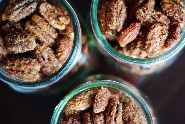 sugar and spiced candied nuts | Favorite Recipes | Pinterest