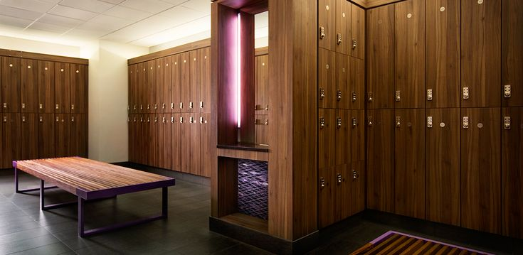 Locker Room Design Id Fitness Center Pinterest