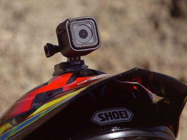 GoPro Hero Motorcycle Helmet Camera