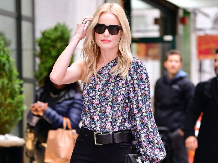 Kate Bosworth Wore Four Chic Looks in One Day While Promoting Her New Movie | The actress is on a flawless style streak while promoting The Long Road Home.