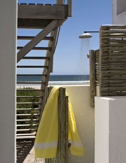 a beach house in south africa | THE STYLE FILES