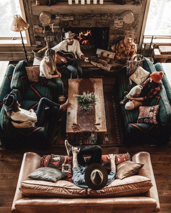 99 Comfy Christmas Living Room Decor Ideas