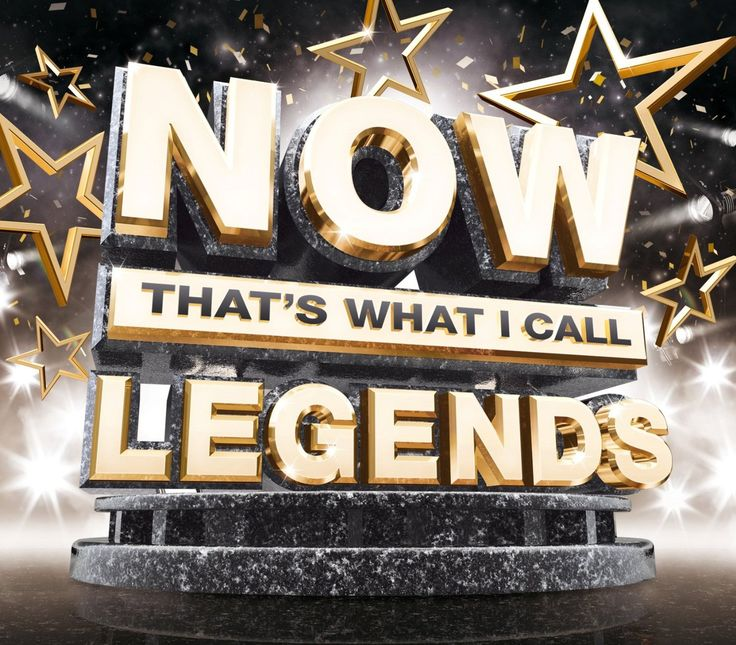 NOW That's What I Call Legends by Various Artists: Amazon.co.uk: Music