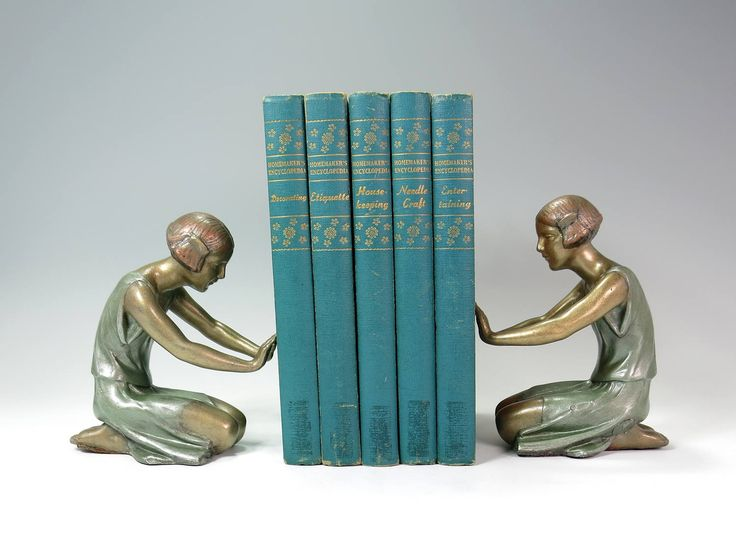 Kneeling Female Art Deco Sculptures - P Sega Art Deco Reproduction - Flapper Women Art Deco Home Decor - 1920s 1930s Art Deco Metal Figures by EightMileVintage on Etsy