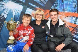 With Ben Barnicoat and Jack Harvey kartmasters 2010