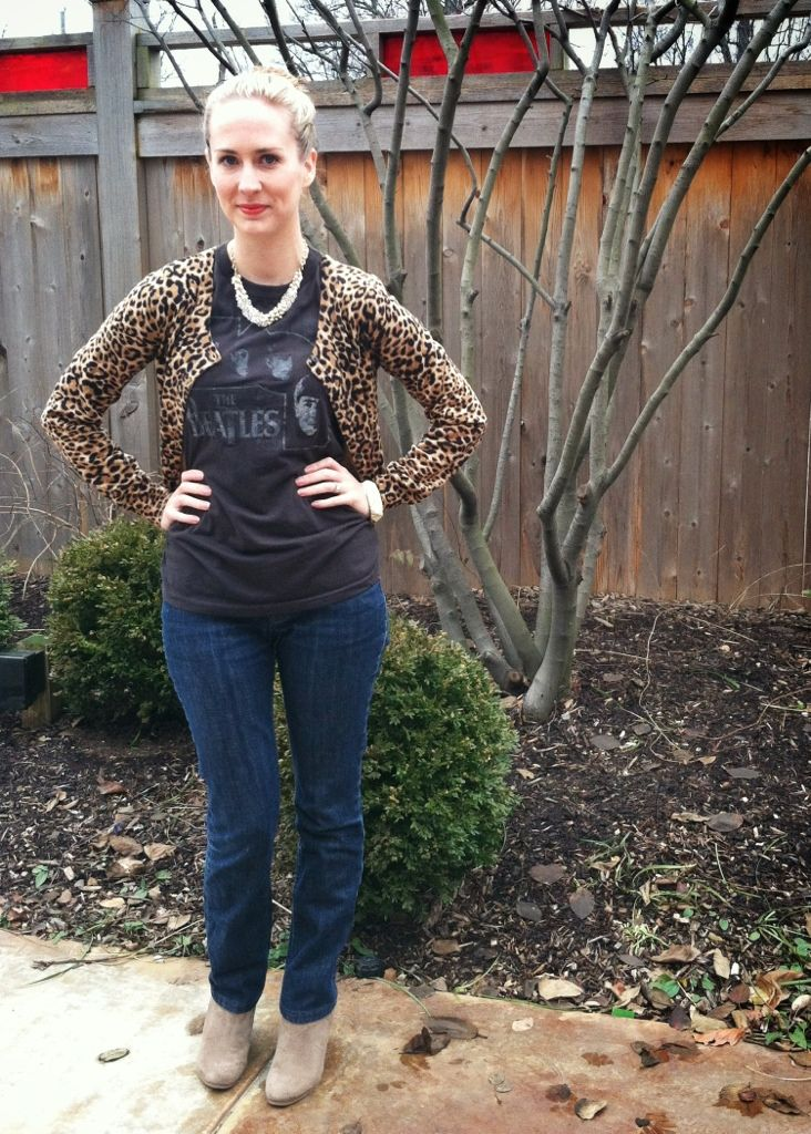 The 7 best images about Leopard cardigan outfit on Pinterest ...
