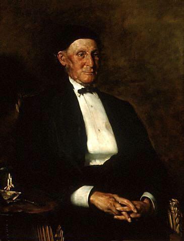 Portrait of Albin Martin by Robert Atkinson